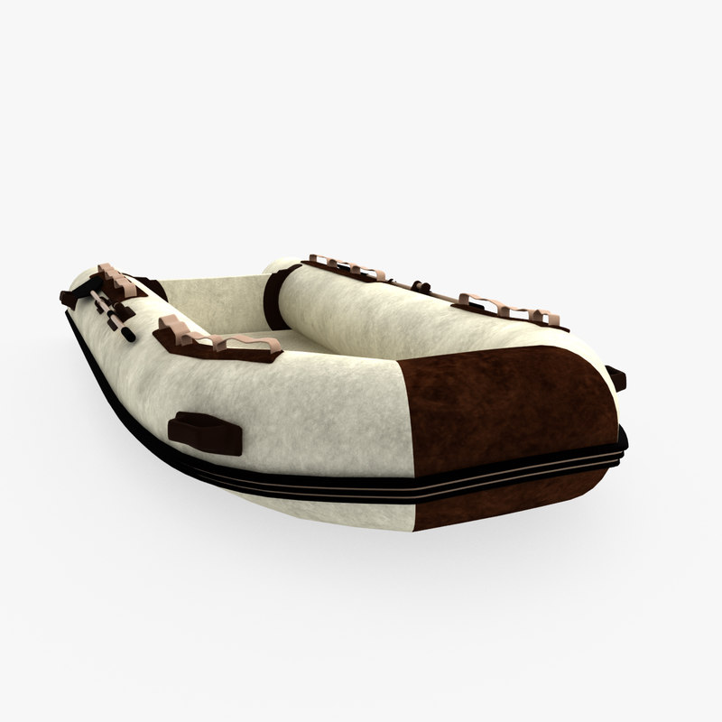 inflatable dinghy brown model