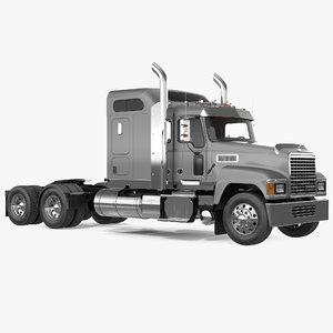 mack chu613 truck 3D model