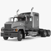 Mack CHU613 Truck Rigged 3D Model