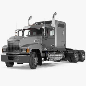 3D mack chu613 truck rigged model
