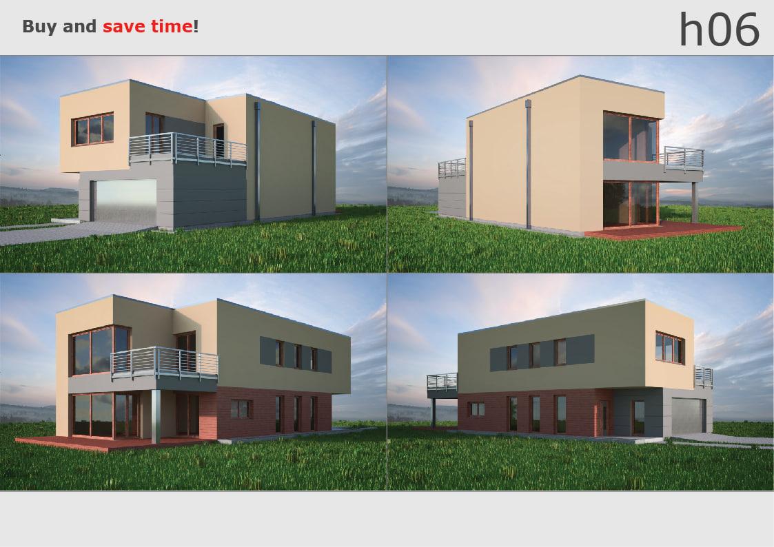 3D house 06