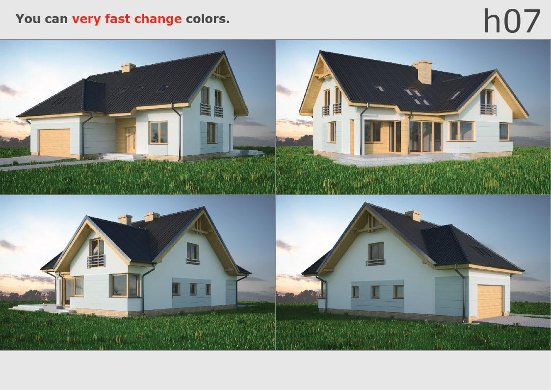 3D house 07
