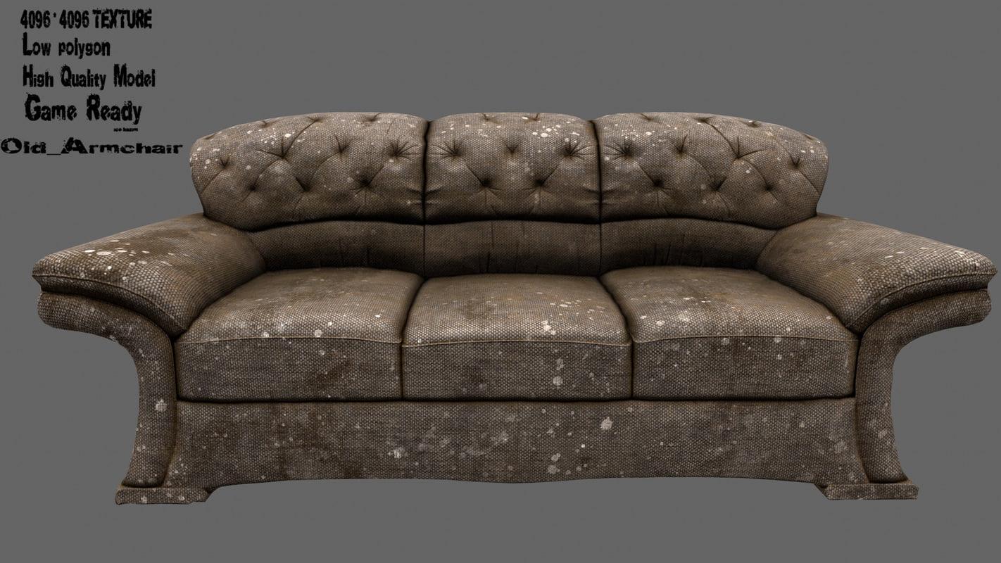 armchair chair model