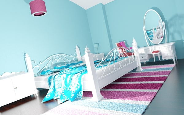 3D master bed room