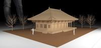 oriental house model