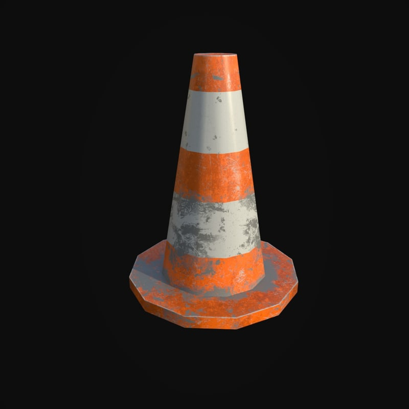 traffic cone model