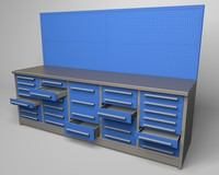 Workbench - 32 drawers