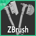 Heavy axe set - Zbrush highpoly