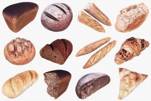 3D bakery pack model