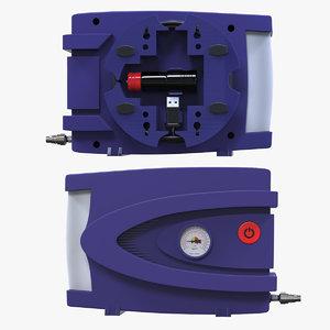 kit air compressor 3D