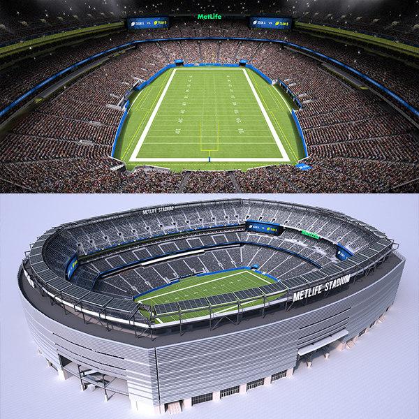 3D football stadium audience animations