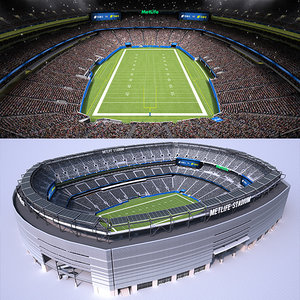 3D football stadium audience animations