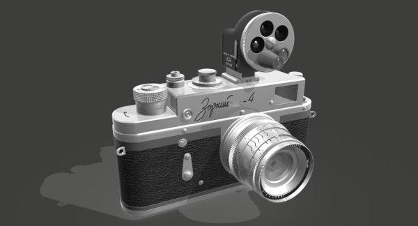 3D zorki 4k camera