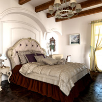 classic bedroom design model
