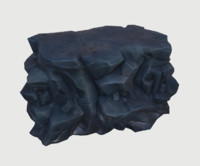 volcanic rock 3D model