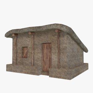 mud hut 3 3D model