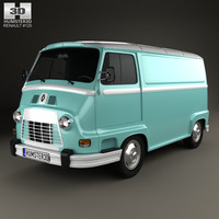 3D renault estafette panel