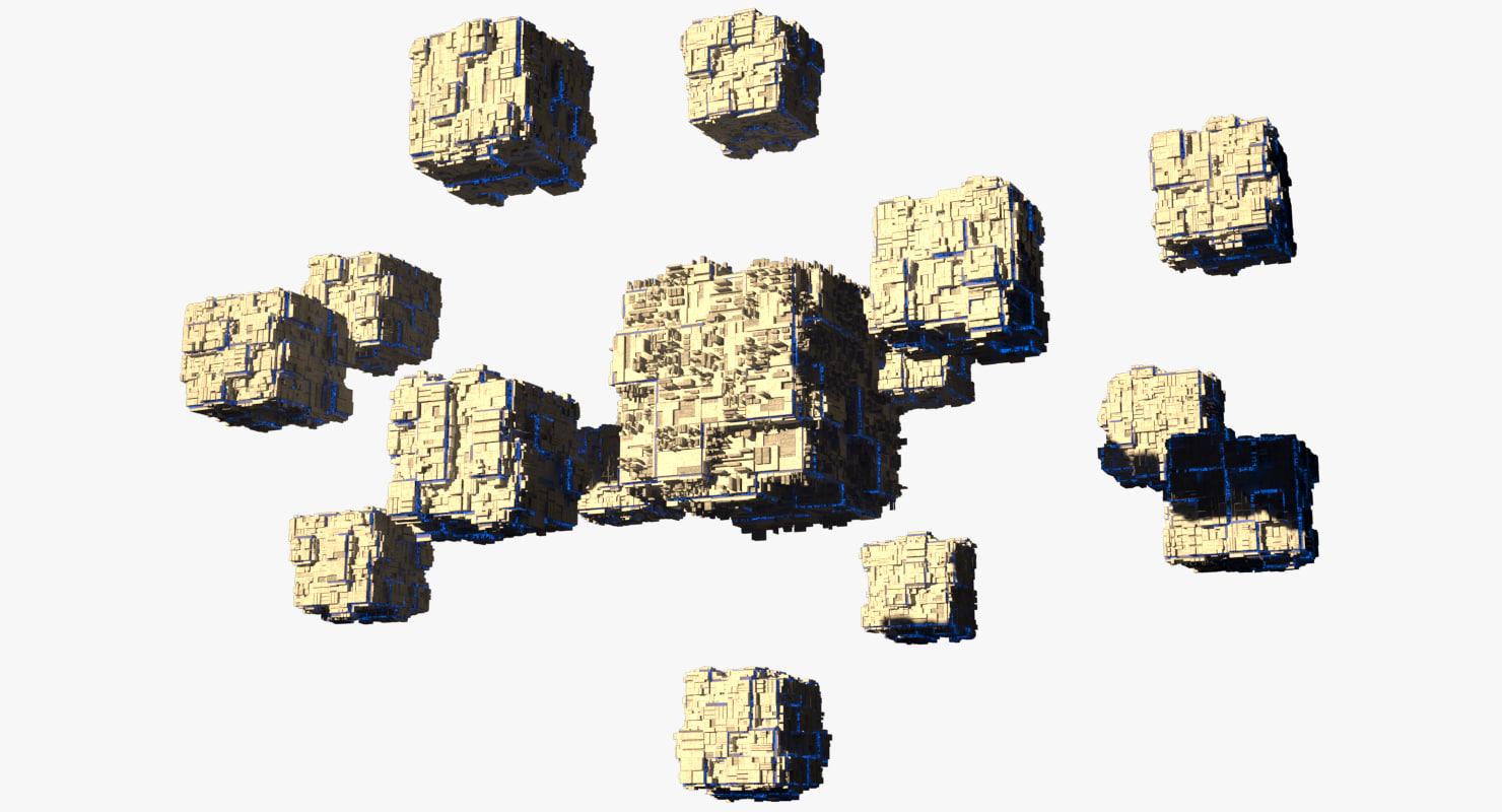 space 3D model