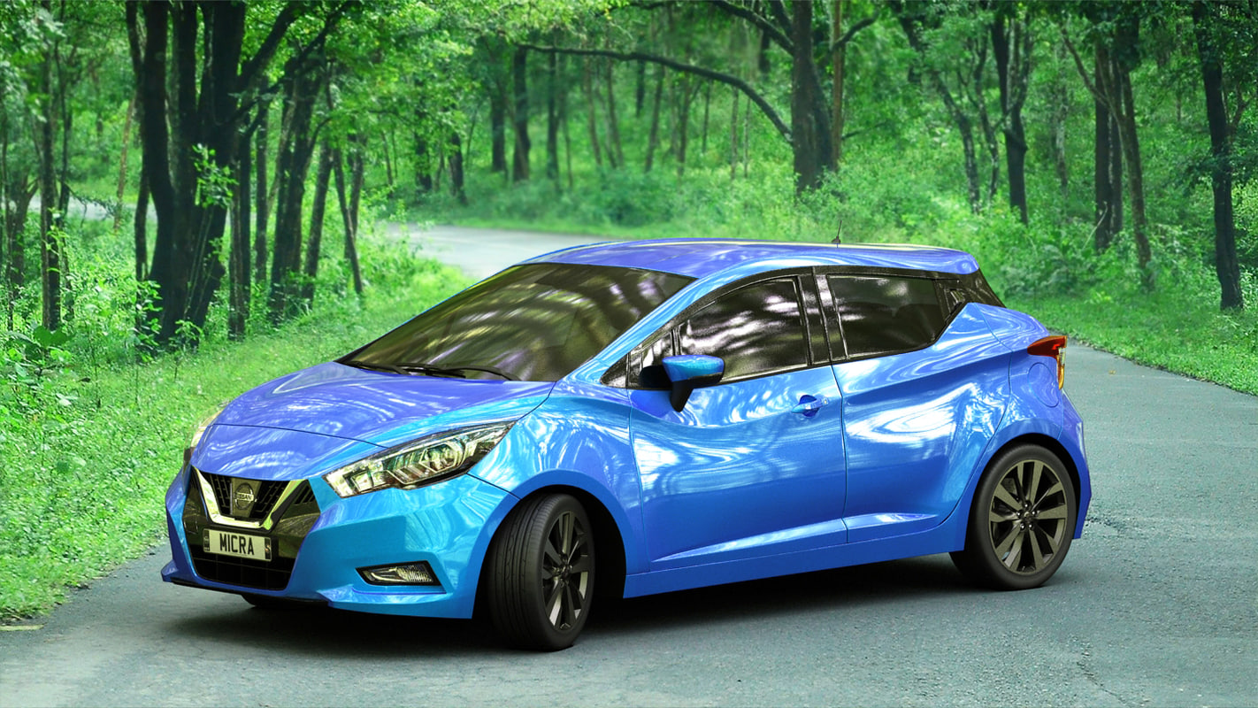 Nissan micra 2017 interior 3D model - TurboSquid 1158698