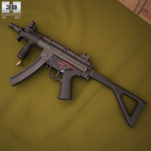 3D heckler koch h model