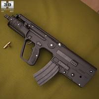 tavor mtar21 m 3D model