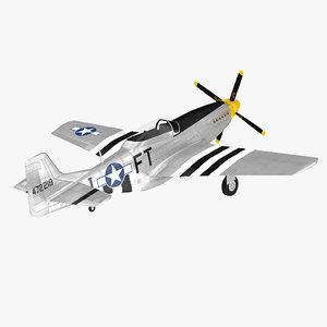 3D p-51 mustang ap