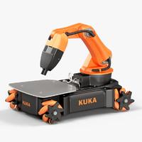 kuka youbot 3D model