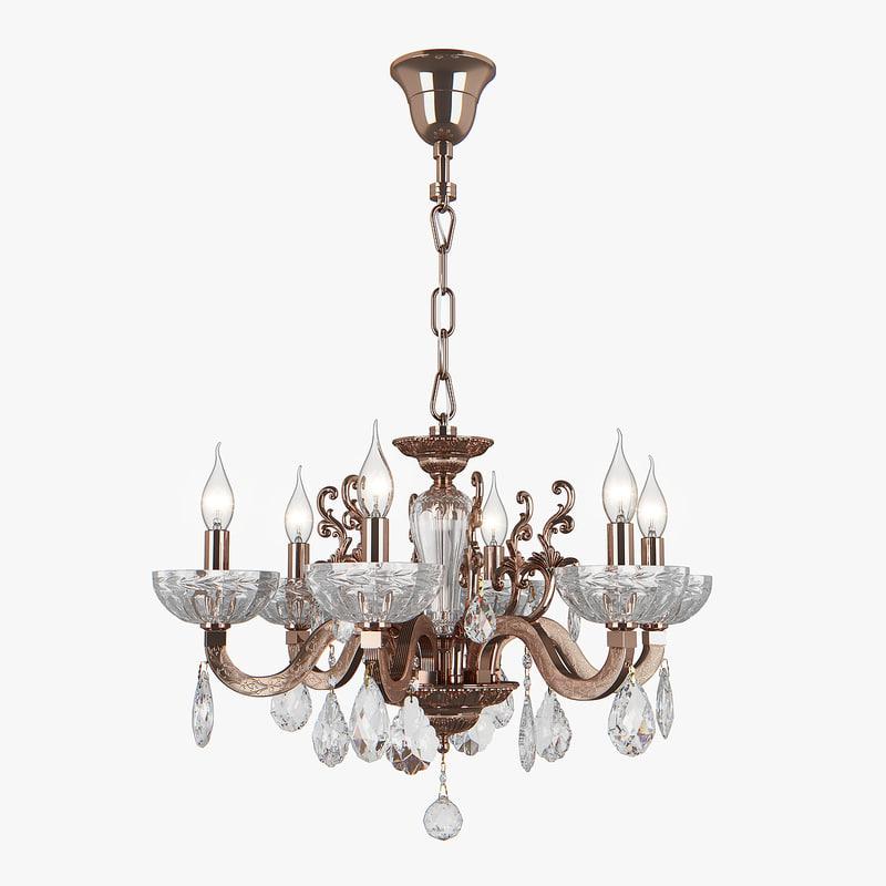 3D chandelier 719068 artifici osgona