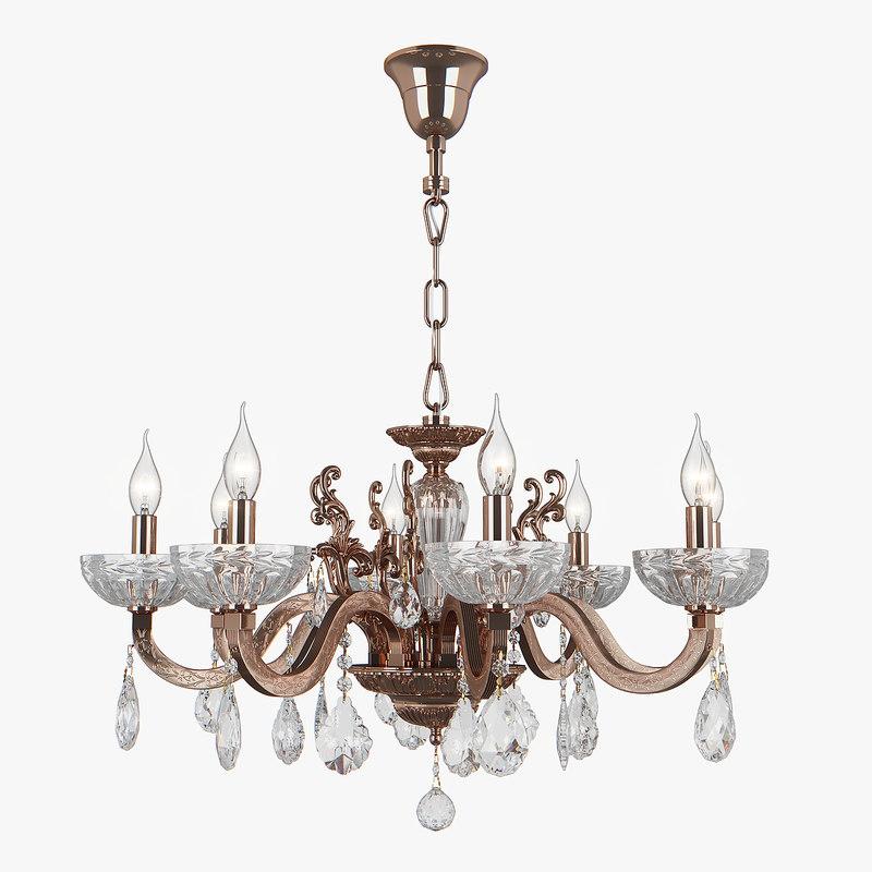 chandelier 719088 artifici osgona 3D