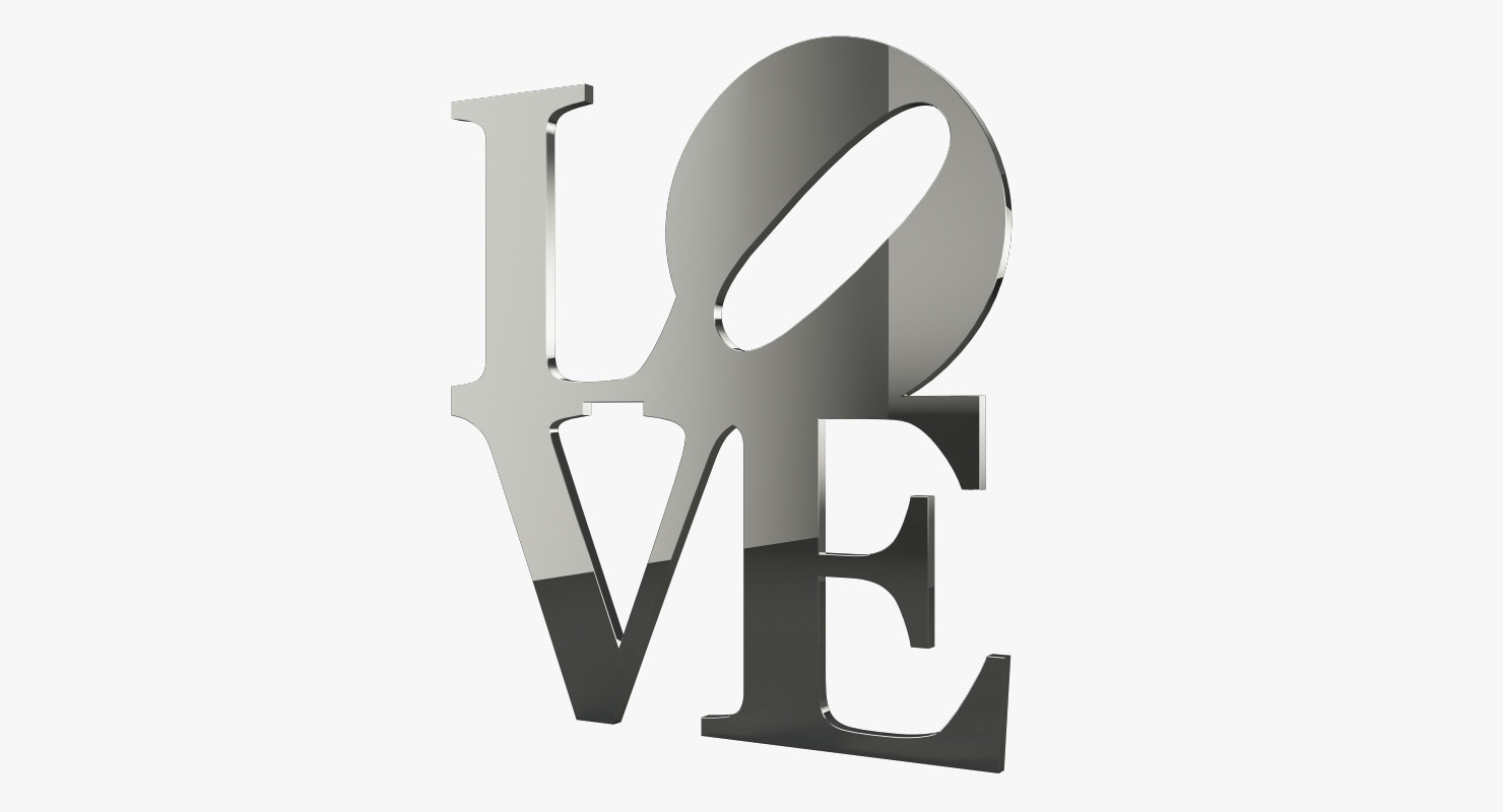 love mirror 3D model