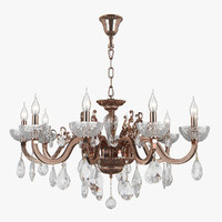 3D chandelier 719108 artifici osgona model