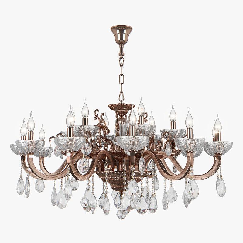 chandelier 719188 artifici osgona 3D model