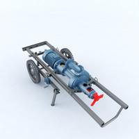 3D pump manure