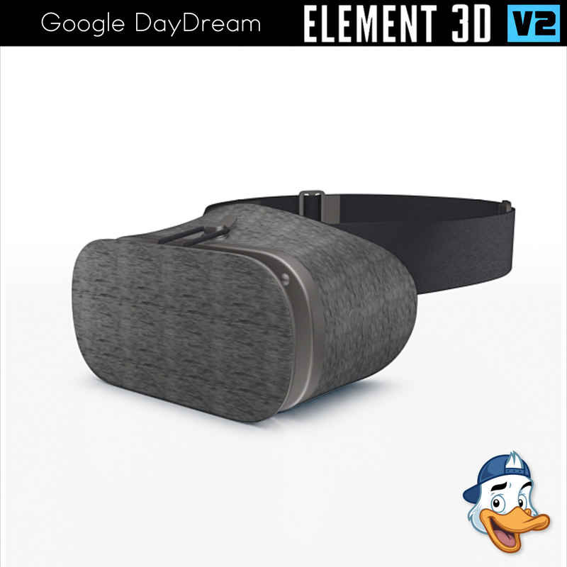 3D google daydream element model