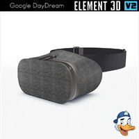 3D google daydream element model