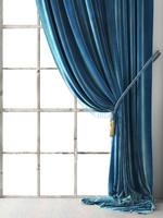 3D vintage velvet drapery model