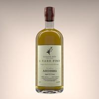 3D model ardbeg gleann mor whisky