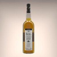 3D brora 2006 single malt model