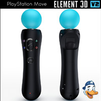 3D playstation element