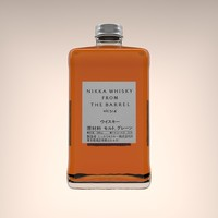 nikka whisky barrel 3D