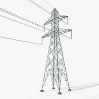 Electric Power Tower #1
