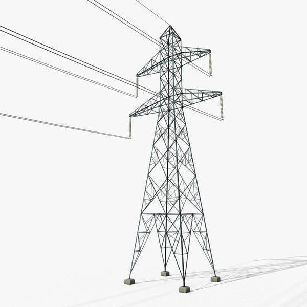 3D power tower 1