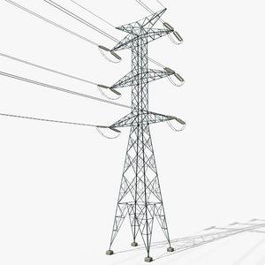 power tower 3 3D model