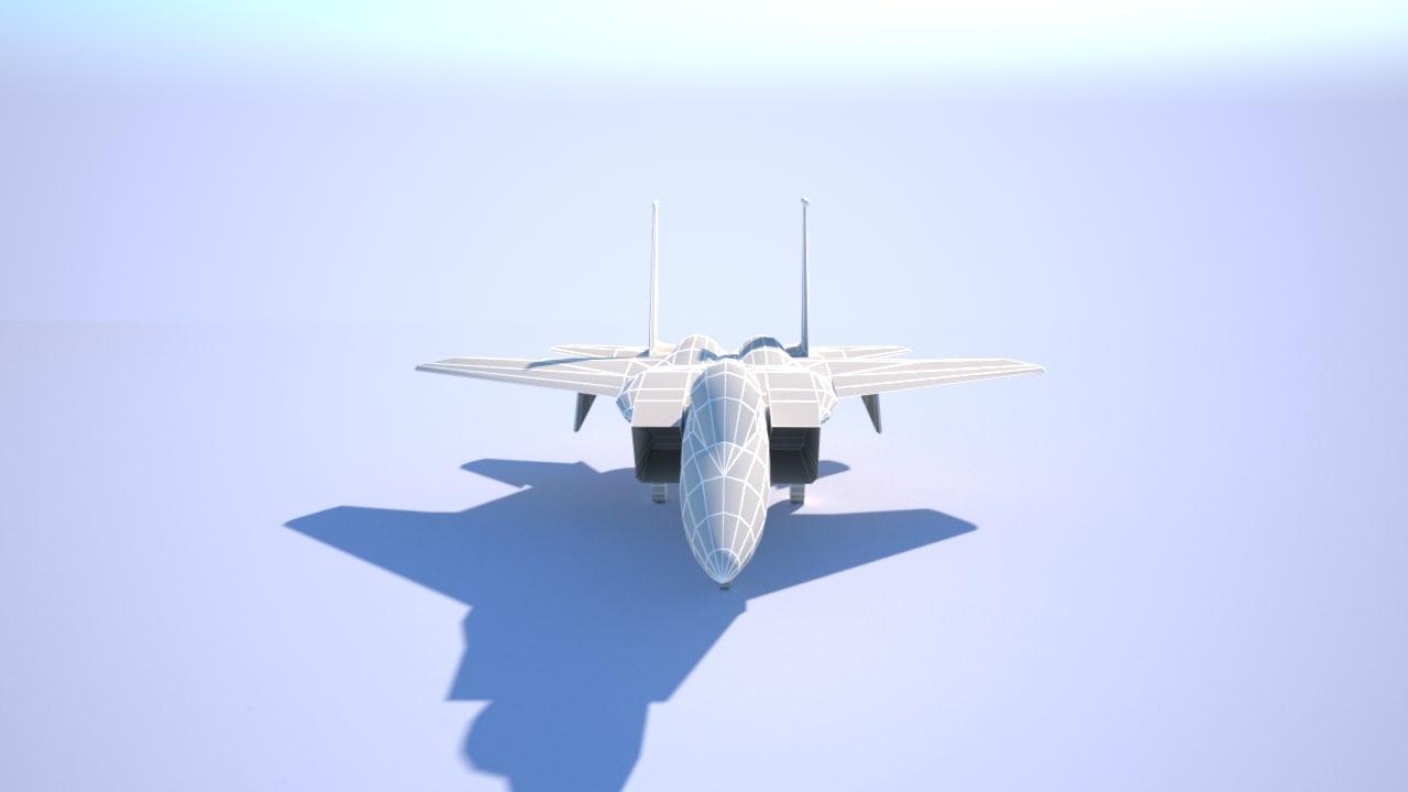 gameready f-15 eagle model