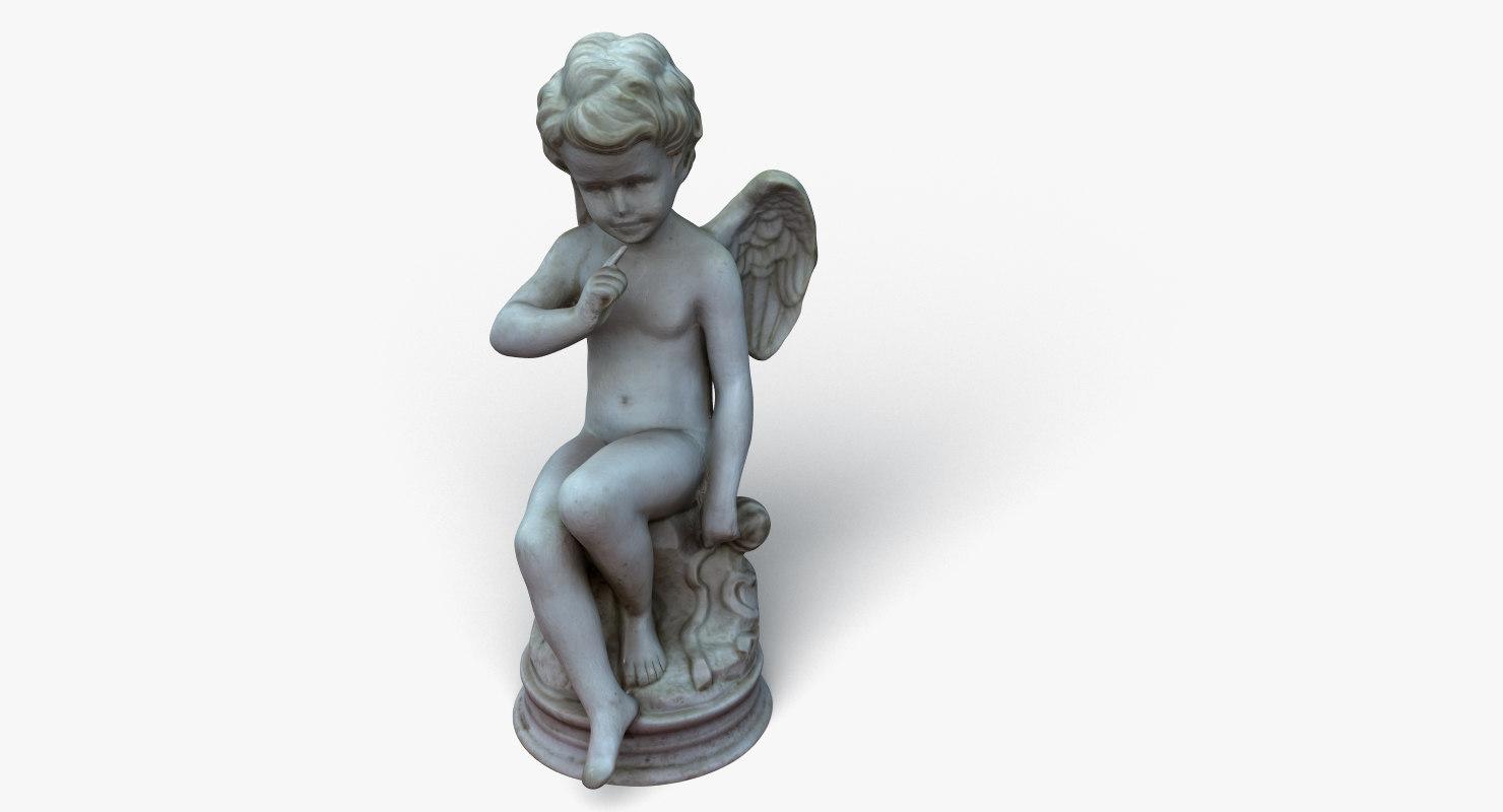 cupid angel model