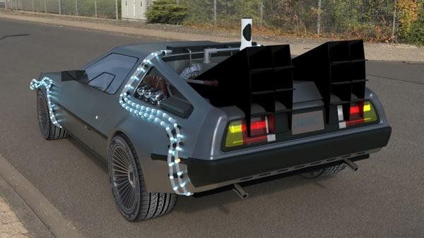 3D time traveller model