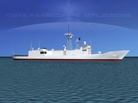 frigate cheng rocs 3D