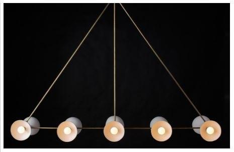 apparatus trapeze chandelier 3D model