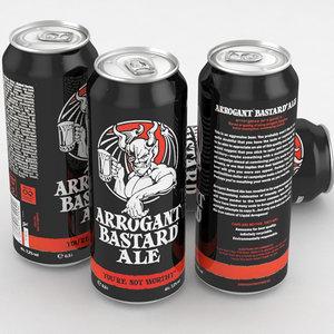 beer ale arrogant model
