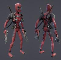 Deadpool - CAT Rig